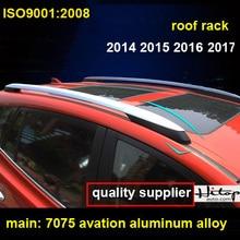 Toit rack rail de toit barre de toit pour Toyota RAV4 2009-2012 ou 2014-2018, aviation en alliage d'aluminium, vieux et nouveau RAV4, qualité fournisseur
