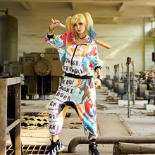 Womens Tracksuit Set 2 Piece Clothing Set Hoodie Suit Printed Camouflage Set for Women Hooded Outerwear Coat Hip Hop Pants