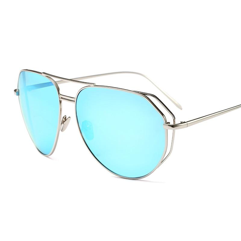 2018 Hot Sale Fashion pilot Metal street shot retro Men women Sunglasses Vintage Brand star Designer Ladies PC-087