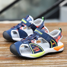 Summer Kids Boy Sandals Children Flats Breathable Anti-slippery Boys Girls Closed Toe Slippers Sandalias Fashion Shoes For Child kids summer sandals new designer children flats breathable anti slippery boys girls closed toe slippers sandalias fashion shoes