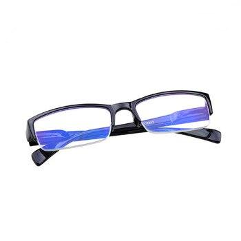 2016 New Men Women Resin Reading Glasses black half frame Spectacles +1 +1.5 +2 +2.5 +3 +3.5 +4 Degree gafas Oculos lunettes 021