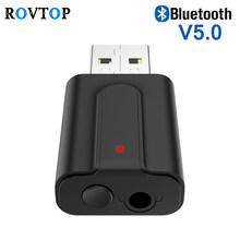 2 in 1 USB Wireless Bluetooth 5.0 Adapter Receiver Transmitter Audio Stereo Music Adapter For TV Headphone Speaker Car(China)