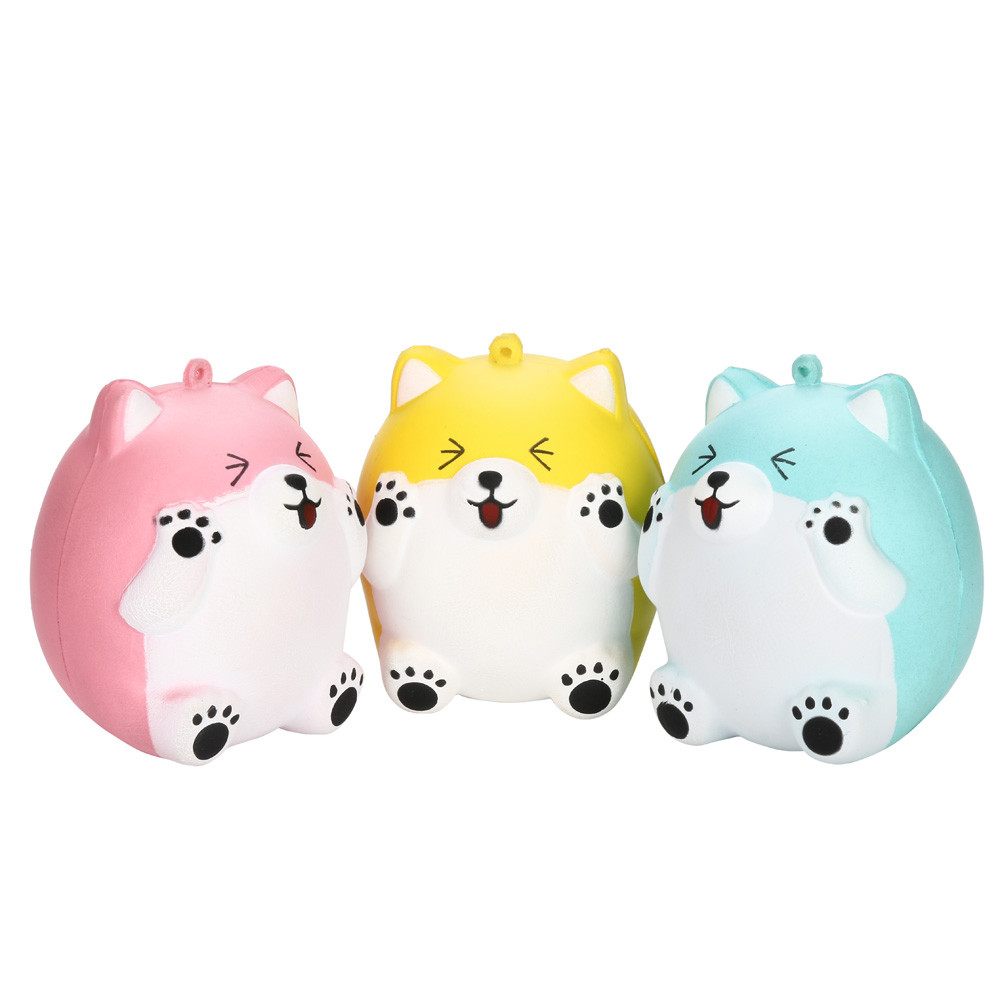 Fine 11.5cm Galaxy Deer Cream Scented Slow Rising Squeeze Strap Kids Toy Gift Squishy Toys Children Slow Rising Antistress Toy 0409 To Enjoy High Reputation In The International Market Stress Relief Toy Squeeze Toys