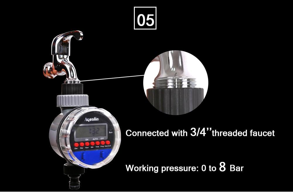 HTB18zmTXJfvK1RjSspfq6zzXFXaj Automatic LCD Display Watering Timer Electronic Home Garden Ball Valve Water Timer For Garden Irrigation Controller#21026