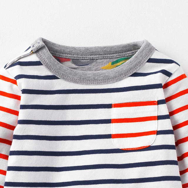 SAILEROAD New 2018 Spring Baby Kids Boys Girls Long Sleeve T Shirt Autumn Children Boys Girl's Blouse Shirts Cotton 100%