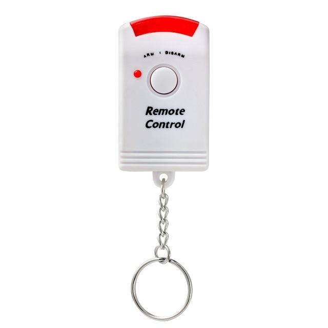 Etiger Wireless PIR/Motion Sensor Alarm+2 Remote Controls Local Alarm Burglar 105db Siren Local Alarm System for Home Security