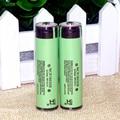 2 pcs. 100% original 18650 3400 mah 3.7 v de lítio-ion rechargebale pcb protegido panasonic ncr18650b