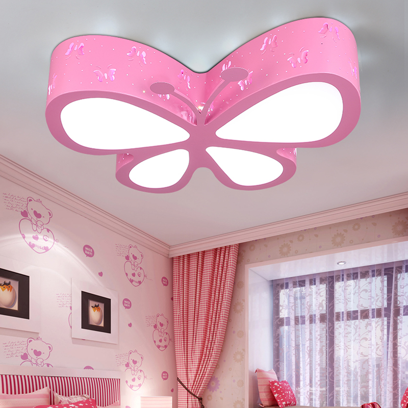 Modern brief children bedroom colorful butterfly hollow iron LED ceiling lamp home deco dining room acrylic ceiling lightModern brief children bedroom colorful butterfly hollow iron LED ceiling lamp home deco dining room acrylic ceiling light