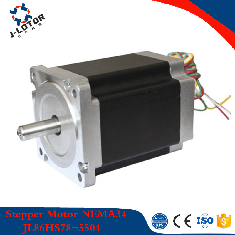 купить 1.8 gegree 86mm*78mm High Torque 4.6N.m 5.5A NEMA34 2 phase Hybrid Stepper Motor JL86HS78-5504 Step Motor with 4 wires по цене 2447.91 рублей