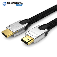 CHOSEAL HDMI 2.0 4K 60Hz HDMI Cable 18Gbps 28AWG Braided Cord 3D HDMI 2.0 Cable For Apple TV PS4/3 PC Xbox PlayStation 10M 20M