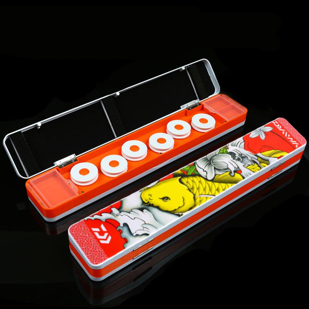 Multifunctional Fishing Tackle Box Line Float Bobber Accessories Storage Case