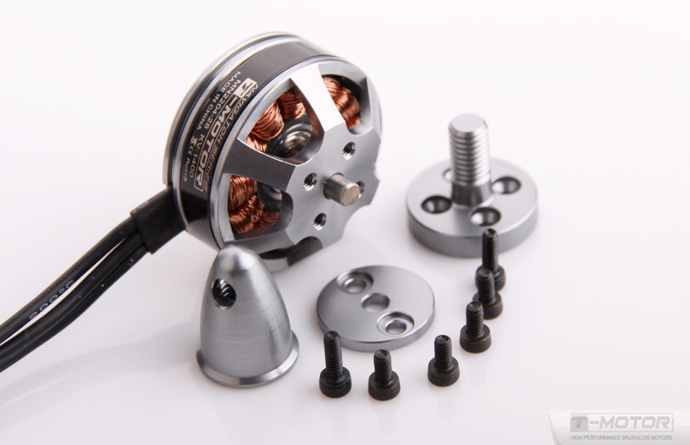 MN2204 1400KV Brushless Electric Motor T-MOTOR More Than 80% Efficiency drone accessories bl motor t motor u power u8 high efficiency multi axis rotary disc brushless motor tm efficiency series