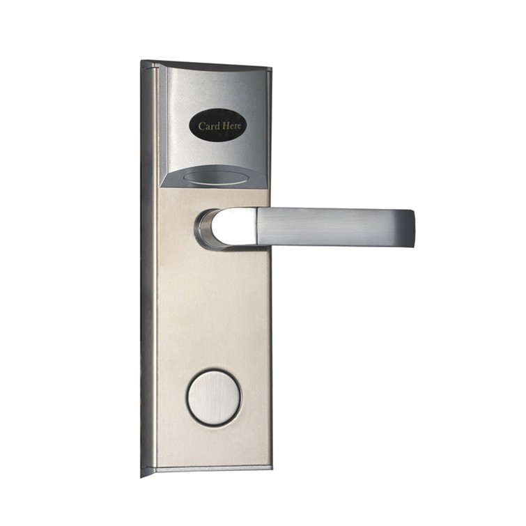 RFID T57 hotel lock,gold or silver , test T57 card ,sn:CA-8002 t57 white card for hotel lock in our store