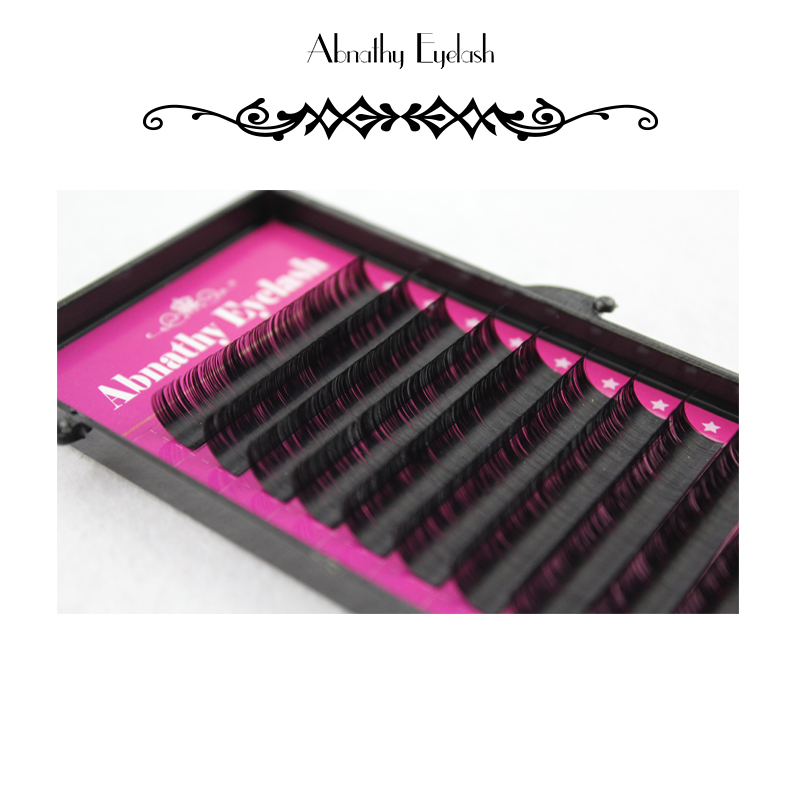 10 pc 0 20 J B C D Curl Mink Eyelash Extension Thin and Soft Materail 3d 6d Voluming lashes Tray Lash in False Eyelashes from Beauty Health