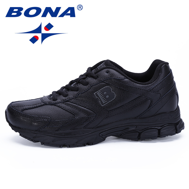 BONA New Arrival Classics Style Men Running Shoes Lace Up Sport Shoes Men Outdoor Jogging Walking Athletic Shoes Male For Retail 2