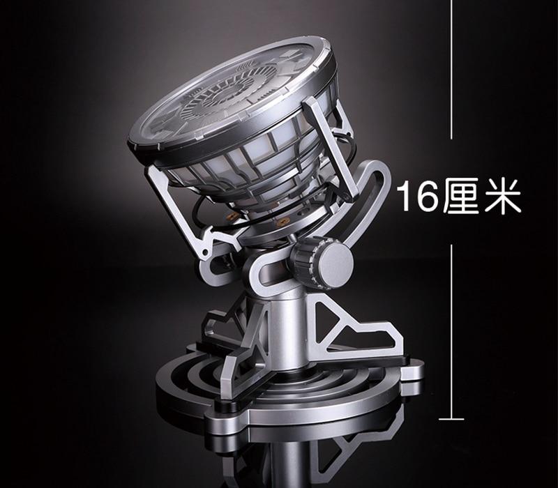 Action Figure Toys Legend 1:1 Scale Iron Man Arc Reactor LED Light Iron Man 3