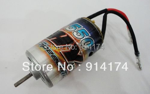 RC Car parts 550 Brush Motor for 1/10 rc car / rc Monster truck  free shipping