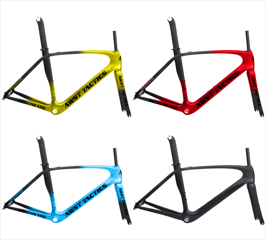 Super Light Carbon Bike Frame 1075g All EPS Technology T800/1000 Rim V Brake Road Carbon Fork Bicycle Cycling Frame