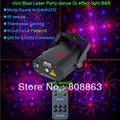 Model new 4in1 Pattern BLUE 200mw projector Remote Red Laser Stage lighting dsico Dance Party Light Show system DJ business d53