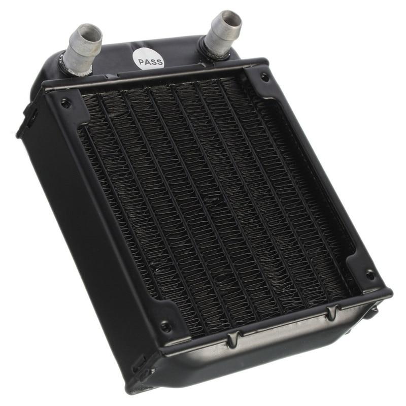 все цены на  2017 Newest 80mm Aluminum Computer Radiator Water Cooling Cooler For Computer Chip CPU GPU VGA RAM Heatsink Heat Exchanger  онлайн