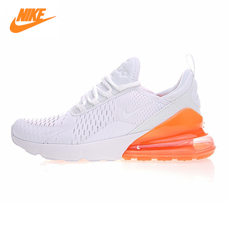 Nike Air Max 270 Women's Running Shoes, Outdoor Sneakers Shoes, Yellow Pink, Breathable Lightweight AH8050-118 AH8050-610