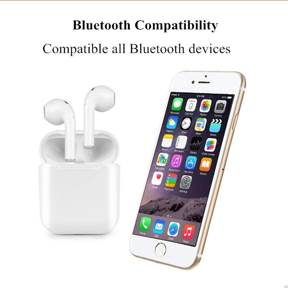 Senza fili di Bluetooth del trasduttore auricolare auricolare Mini i9s tws Portatile Doppio In Ear Auricolari Stereo Vero Auricolari Per Il Telefono Mic Air Baccelli