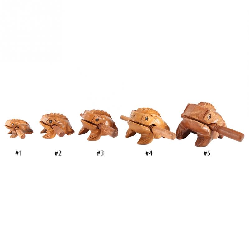 Musical-Instrument Decorative Miniatures Traditional Craft Wooden Lucky Frog Thailand