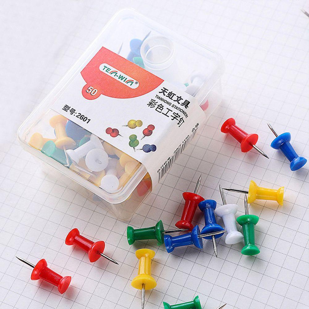 Lot Push Pins Notice Board Map Thumb Tacks Point Bulletin Drawing Office Supplie