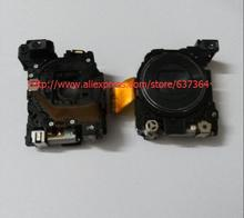 Lens Zoom Unit For SONY DSC-W120 DSC-W125 DSC-W130 W120 W125 W130 Digital Camera Repair Part Black NO CCD