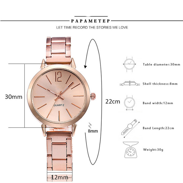 Casual Quartz Stainless Steel Band Marble Strap Watch Analog Wrist Watches relojes para mujer Beautiful fashion classic women