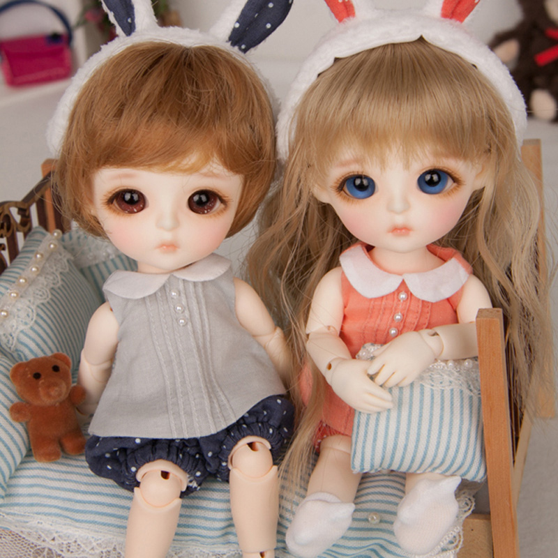 New Arrival 1/8 BJD Doll BJD/SD Cute Lovely Lina Baby Miu Resin Joint Doll With Eyes For Baby Girl Birthday Gift new arrival 1 4 bjd doll bjd sd fashion cute fish mermaid resin doll for baby girl birthday gift