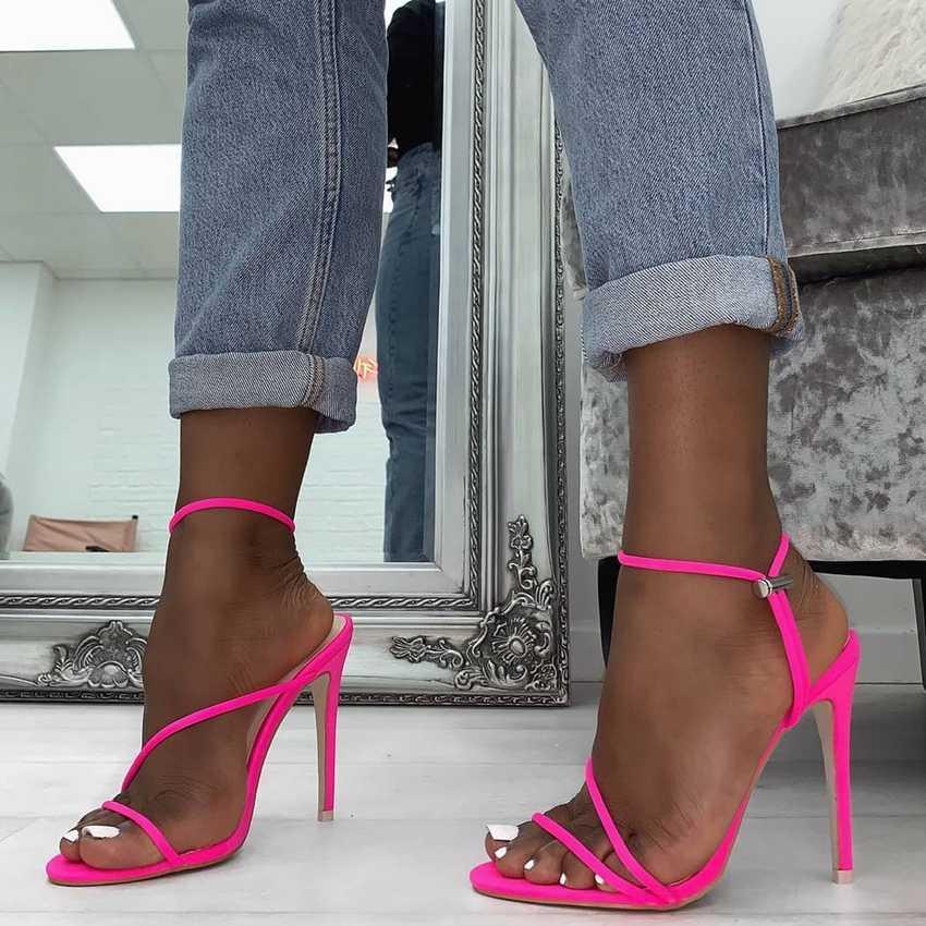 حذاء بلاتفورم صيفي 11 سنتيمتر للنساء بكعب عالي وكعب عالي حذاء حفلات الزفاف للنساء بكعب عالي