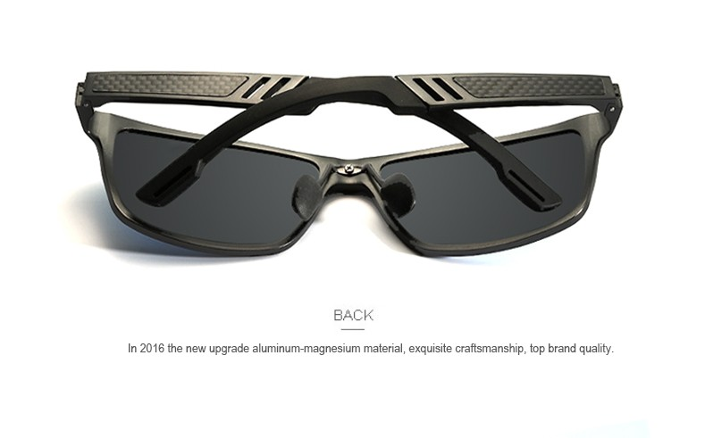 2016 High Quality Men Polarized sunglasses Male Driving Sun Glasses Fashion Polaroid Lens Sunglass Gafas oculos de sol masculino 6