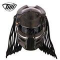 Predator Carbon Motorhelm Volledige Gezicht Iron Warrior Man Helm DOT Veiligheidscertificering Hoge Kwaliteit Zwart Kleurrijke