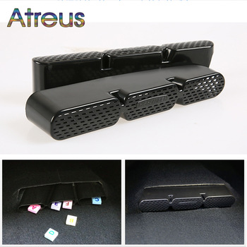 Atreus 2X Car Seat Air Conditioner Air Outlet Protective Cover For Toyota Highlander Kluger Accessories 2014 2015 2016 2017 2018 1