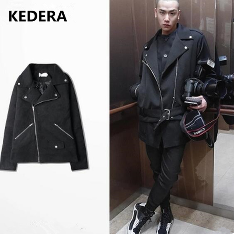 2017 men Leather Jacket Coat with fur Warm Winter Motorcycle vintage Casual Mens Fashion Leather Jackets Coats