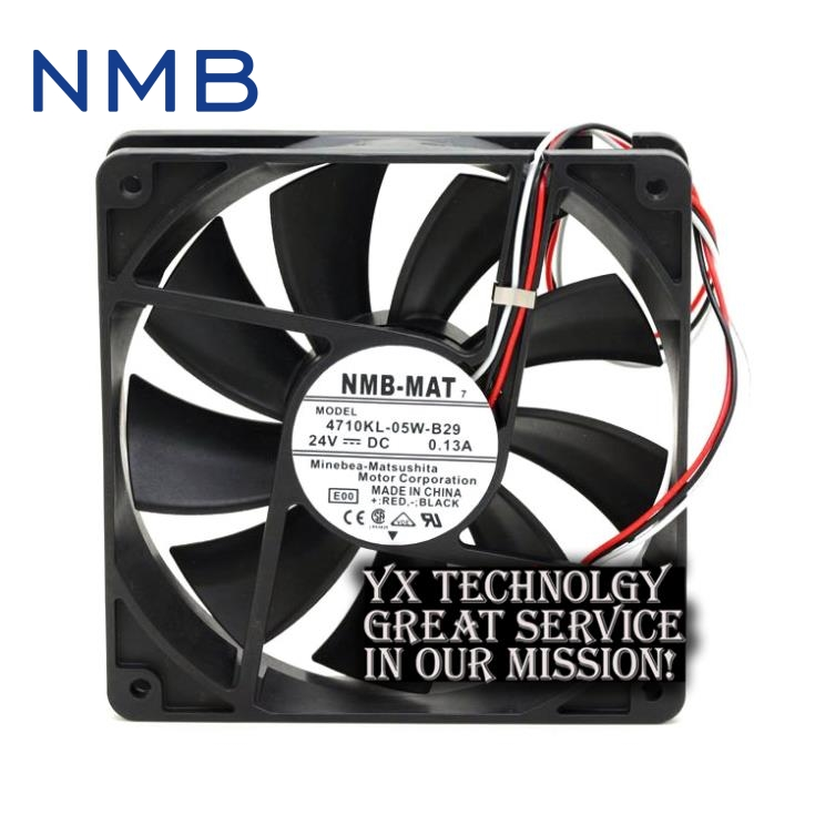 New 12038 12V 2.5A 4715KL-04W-B86 4 line server fans for NMB 120*38*38mm