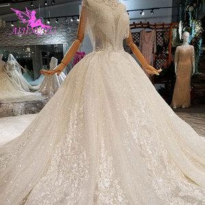 Image 4 - AIJINGYU Beautiful Wedding Dresses Affordable Bridal Gown Cap Special engagement Irish Gowns Plus Size Lace Wedding Dress