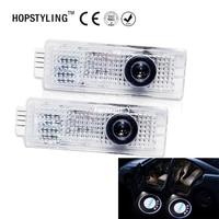 HOPSTYLING 2pcs F20 F21 F30 F31 F34 F32 Car Logo Projector Light LED Laser Car Door