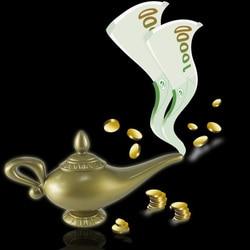 Plastic Cosplay Magic Halloween Christmas Panto Arabian Lamp Tea Pot Cartoon Genie Lamp Movie Decorations Home Party Ornaments
