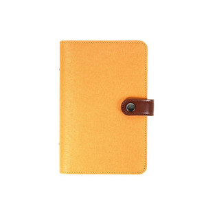 Image 4 - Yiwi A5 A6 Kleur Doek Materiaal Cover Notebook Snap Planner Journal Organisator Bindmiddel Briefpapier