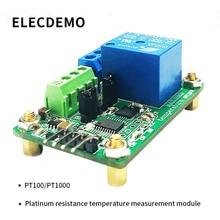 цена MAX31865 Temperature Detector module Platinum Resistance Temperature Measurement Module PT100/PT1000 RTD Sensor