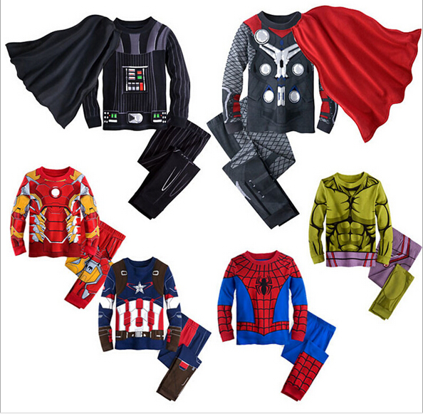 New Children's Cartoon Pajamas Boys Printed Sleepwears Clothing sets kids long-sleeved top + pant 2-piece Kids Pyjamas Pijamas wireless cordless wireless dental equipment endo motor 16 1 contra angle
