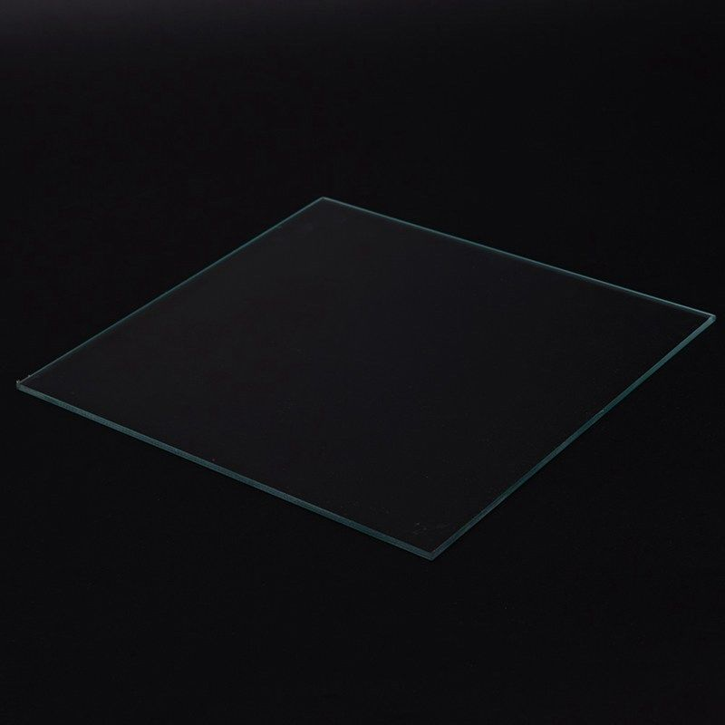 Borosilicate Glass Plate 220x220x4mm for MK2,Wanhao Duplicator i3, Anet A8, A6, MP Maker Select Boro Bed(220x220)