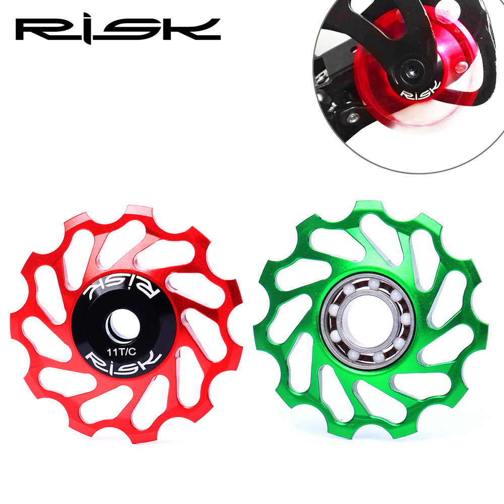 11T Bicycle Jockey Wheel Rear Derailleur Pulley For Shimano 8//9//10//11 Speed 8mm