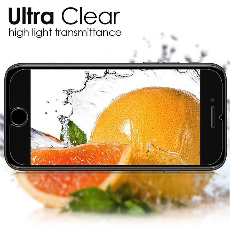 iphone 5 5s se screen protectors protective film  tempered glass (4)