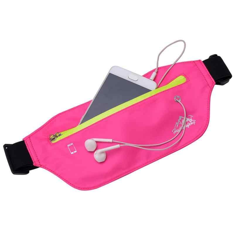 Pacotes de Cintura Esporte Ao Ar Livre Neutro MOLAVE Pure Color Peito Mensageiro Saco de Nylon Repelente de Água Zipper cintura embala pequeno 2018AUG10