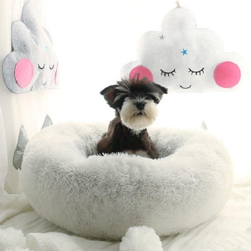 Lit pour chien doux couverture pour chiot maison pour chien chenil chaud tapis pour chien chat nid en peluche lit pour chat tapis pour animaux de compagnie Pad chien chat canapé lit pour animaux de compagnie