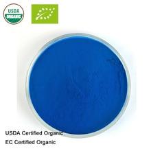 Сертифицированный USDA и EC органический фитоцианин органический Спирулина экстракт