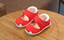 2018 Летний Новый детская обувь для мальчиков и девочек обувь дышащая мягкое дно детские сандалии Бесплатная доставка yu2942 обувь